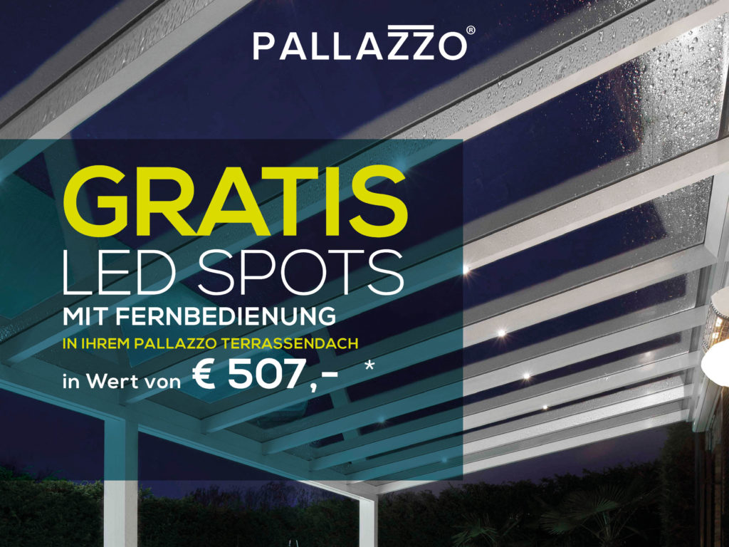 Gratis LED Spots Rabataktion