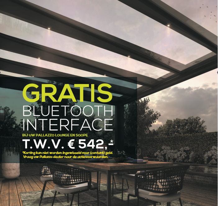 Voorjaarsactie gratis bluetooth interface